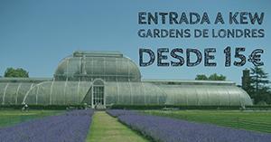 Kew Gardens de Londres desde 15€
