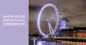 Descuento 35% en London Eye
