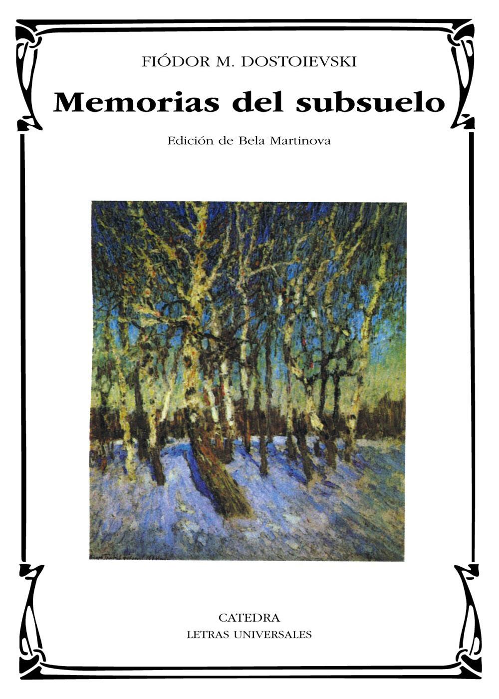 Fiódor Dostoyevski - Memorias del subsuelo