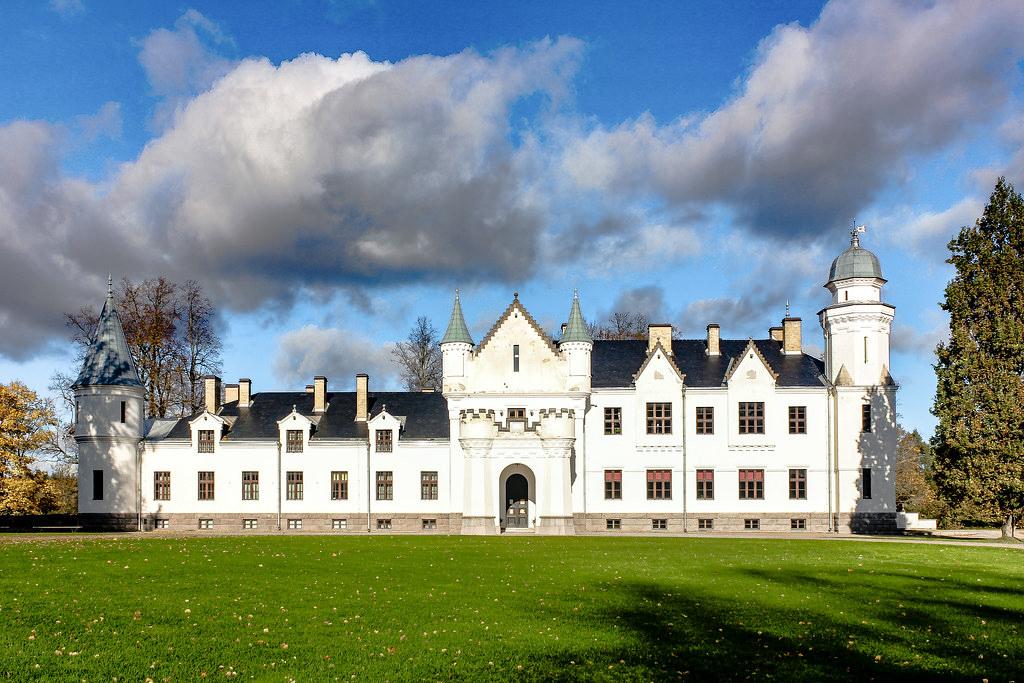 Castillo de Alatskivi, Estonia.