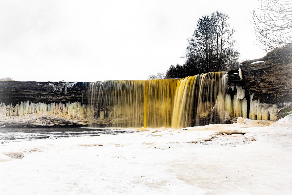 Catarata de Jägala, Estonia.