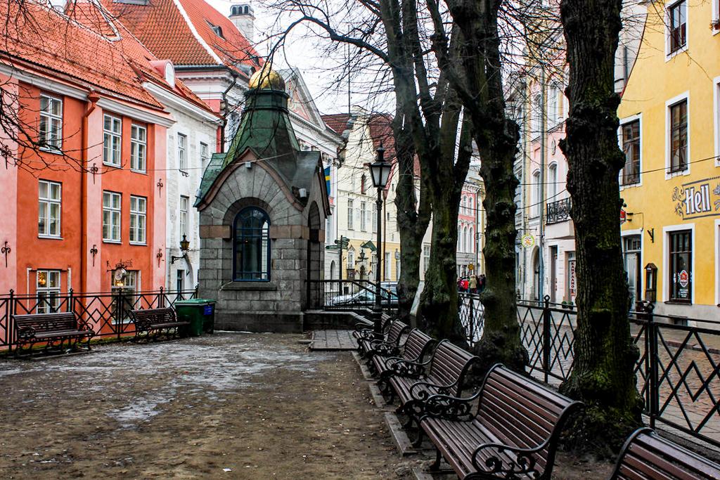 Roheline Turg, Tallin, Estonia.
