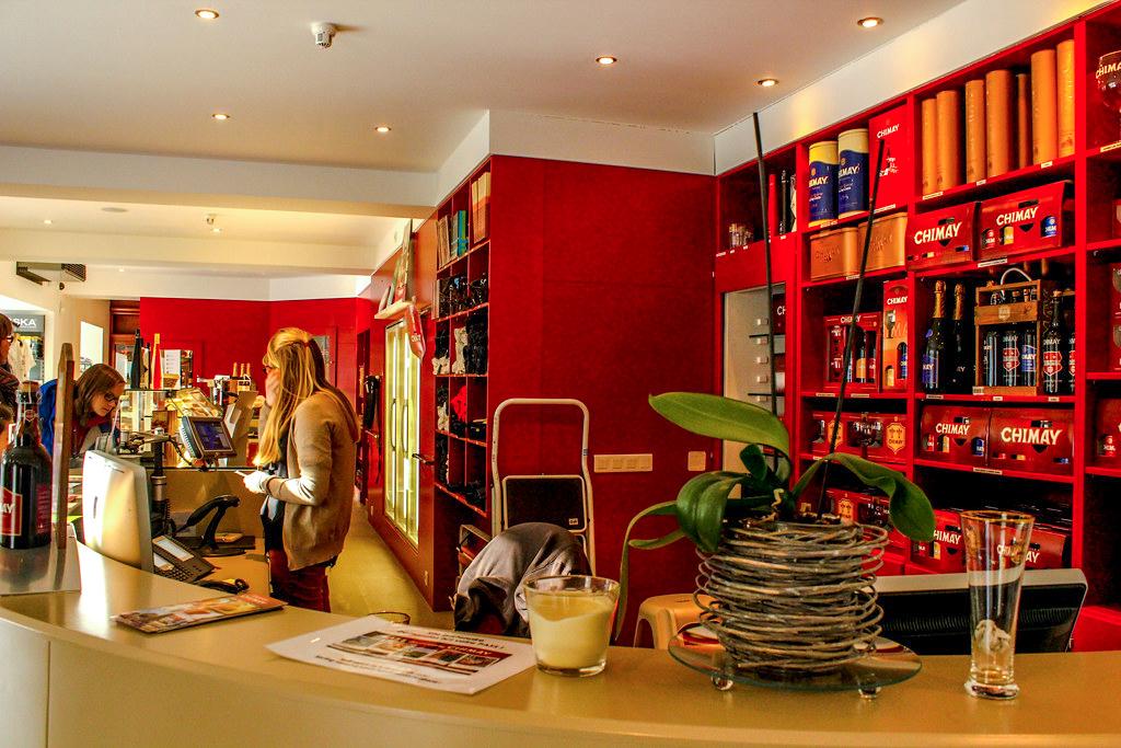 Tienda del Espacio Chimay, Bélgica.