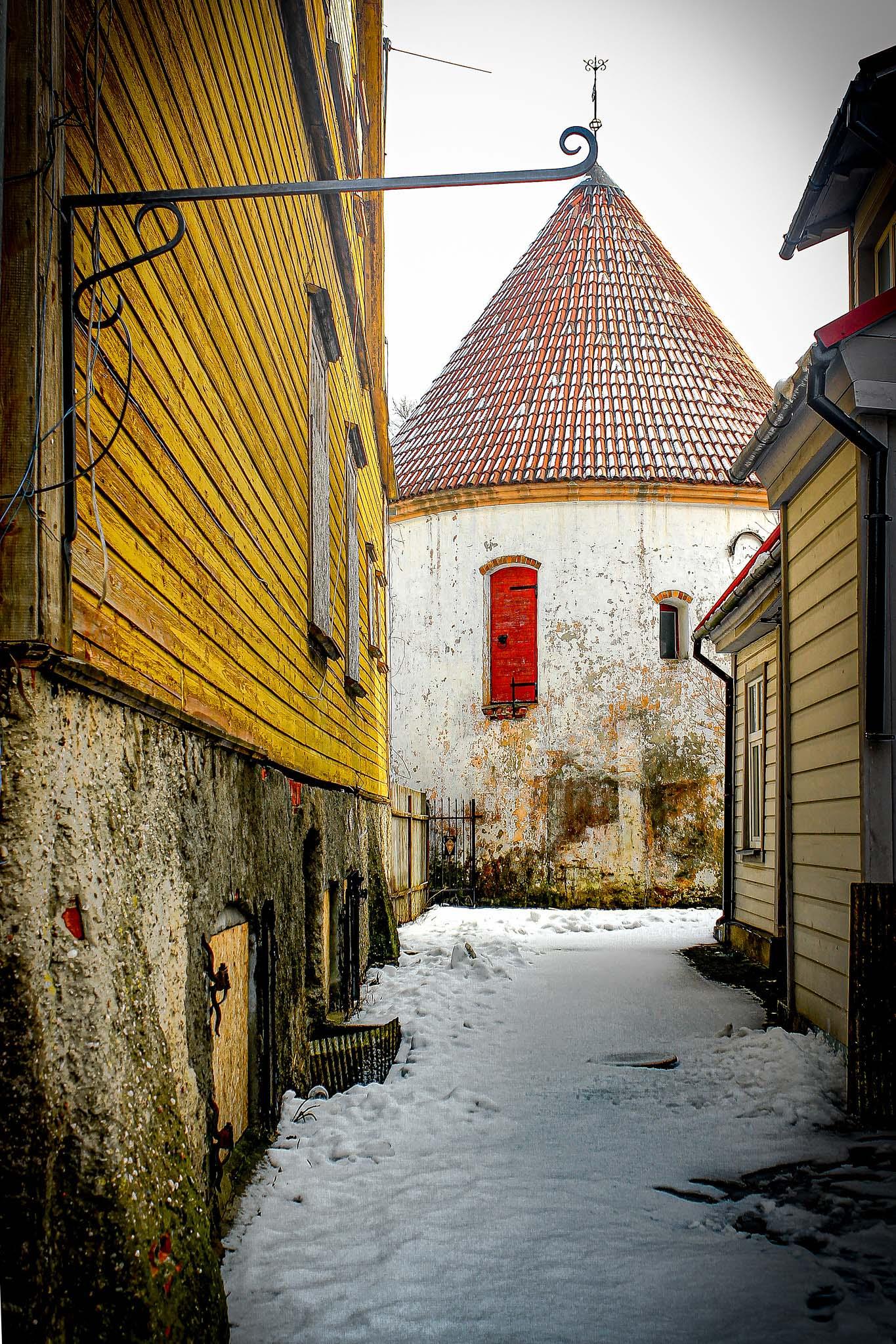 Torre Roja de Pärnu.